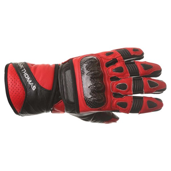 22-15 Sport Gloves Black Red Discount Motorcycle Gear
