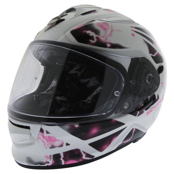Exo 510 Xena Helmet White Pink Ladies