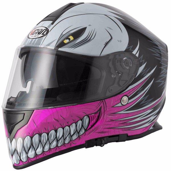 V127 Hollow Helmet Pink Ladies Helmets