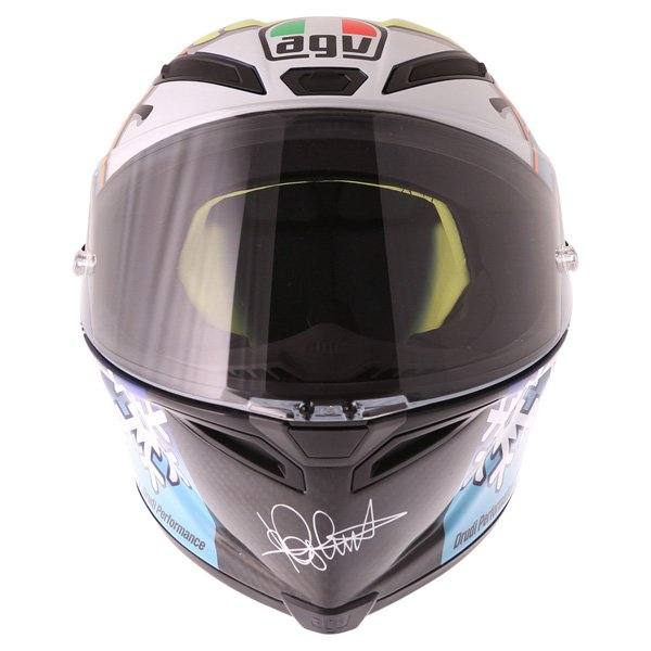AGV Pista GP Rossi Ltd 2016 Winter Test Full Face Motorcycle Helmet Front