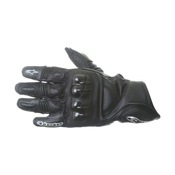 Alpinestars GPX Black Motorcycle Glove Back
