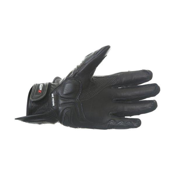 Alpinestars GPX Black Motorcycle Glove Palm