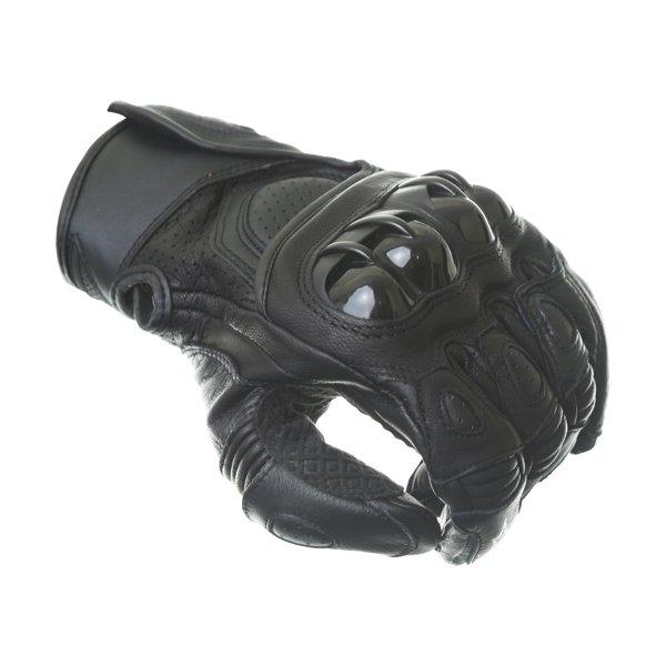 Alpinestars GPX Black Motorcycle Glove Knuckle