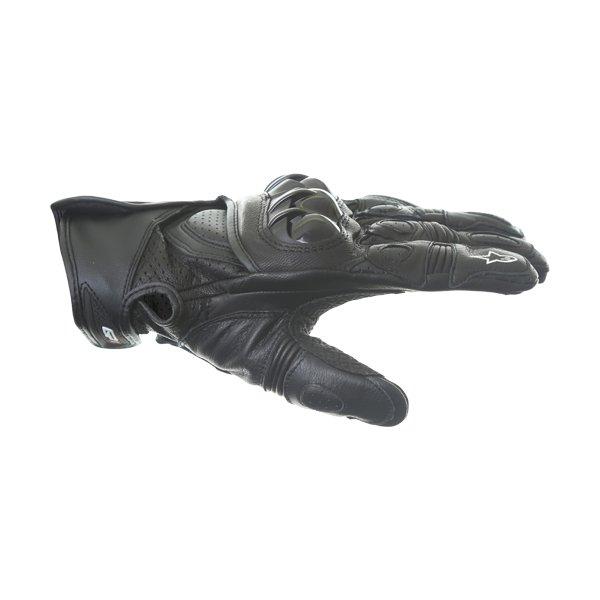 Alpinestars GPX Black Motorcycle Glove Thumb side