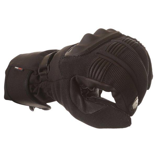 BKS Saturn Black Waterproof Motorcycle Gloves Knuckle