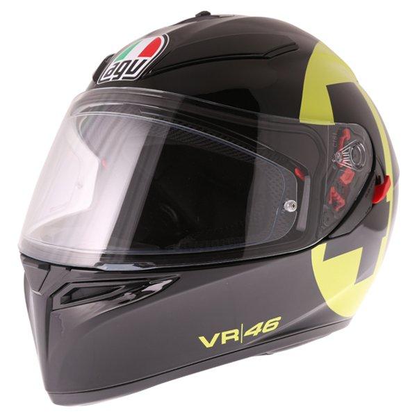 AGV K3 SV Bollo 46 Full Face Motorcycle Helmet Front Left