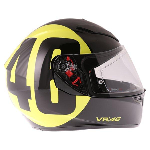 AGV K3 SV Bollo 46 Full Face Motorcycle Helmet Right Side