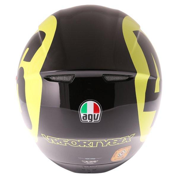 AGV K3 SV Bollo 46 Full Face Motorcycle Helmet Back