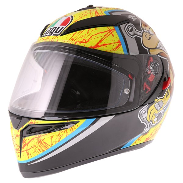 AGV K3 SV Bulega Full Face Motorcycle Helmet Front Left