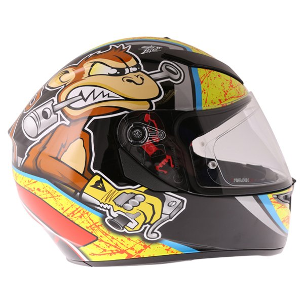 AGV K3 SV Bulega Full Face Motorcycle Helmet Right Side
