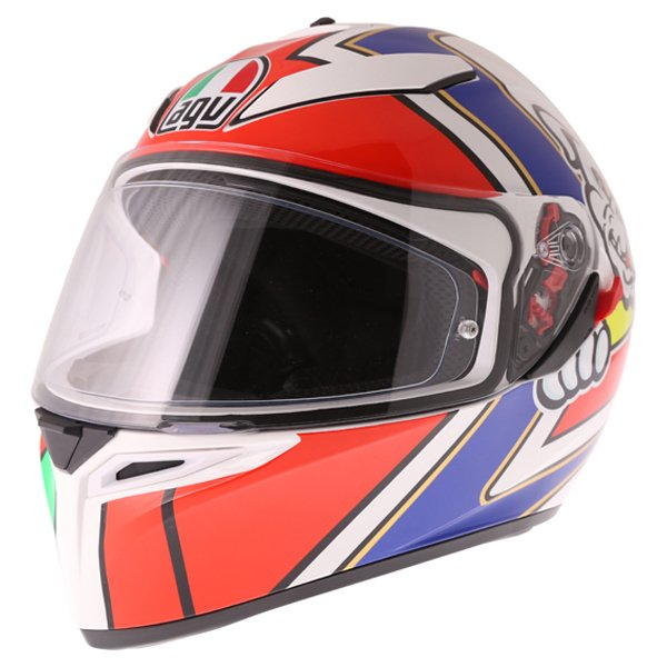 AGV K3 SV Marini Full Face Motorcycle Helmet Front Left
