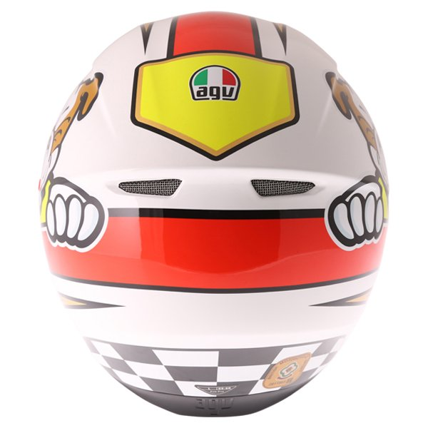 AGV K3 SV Marini Full Face Motorcycle Helmet Back