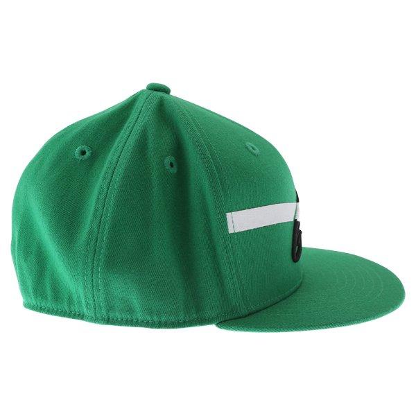 Alpinestars Campbell Flat Kelly Green Baseball Cap Right Side
