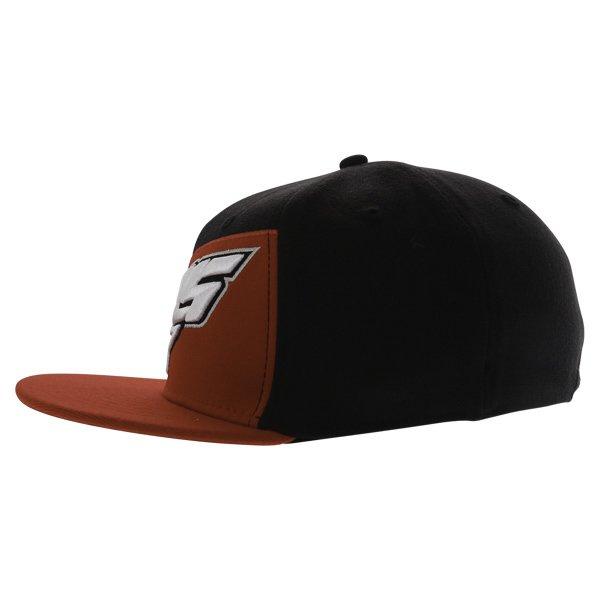 Alpinestars Druitt Flat Black Baseball Cap Left Side