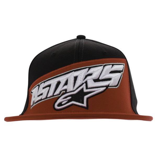 Alpinestars Druitt Flat Black Baseball Cap Front