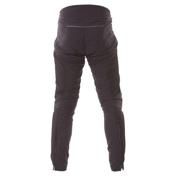 Dainese Drake Super Air Mens Black Textile Motorcycle Pants Rear