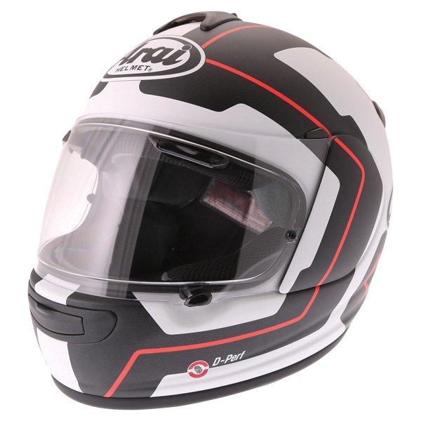Axces III Line Helmet Red