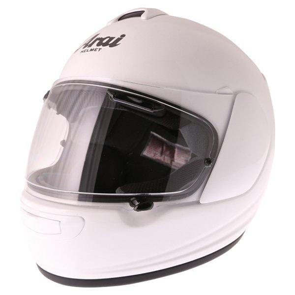 Arai Axces III Diamond White Full Face Motorcycle Helmet Front Left