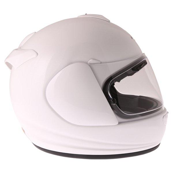 Arai Axces III Diamond White Full Face Motorcycle Helmet Right Side