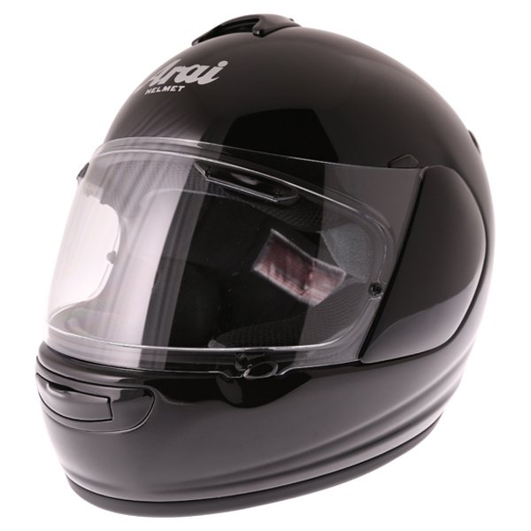 Arai Axces III Diamond Black Full Face Motorcycle Helmet Front Left