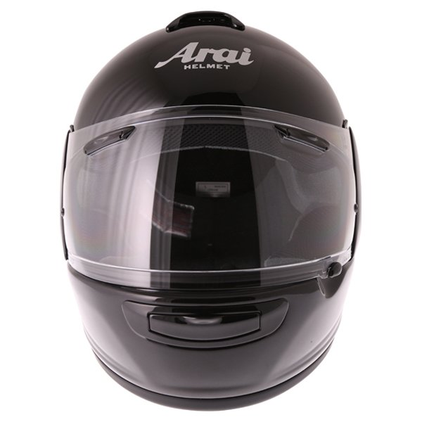 Arai Axces III Diamond Black Full Face Motorcycle Helmet Front