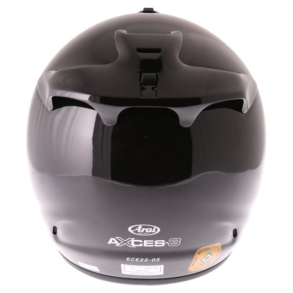 Arai Axces III Diamond Black Full Face Motorcycle Helmet Back