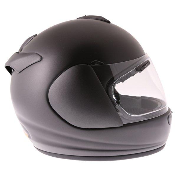 Arai Axces III Frost Black Full Face Motorcycle Helmet Right Side