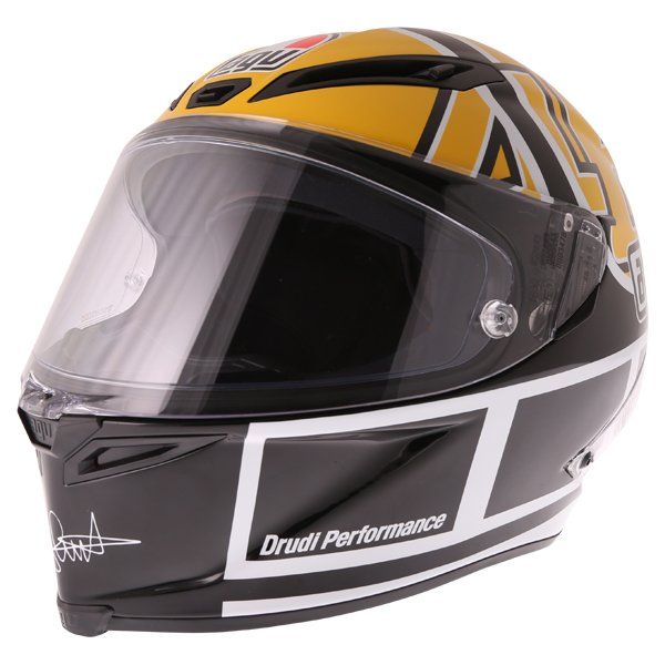 AGV Corsa-R Valentino Rossi Goodwood Full Face Motorcycle Helmet Front Left