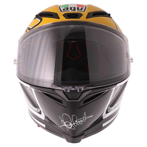 AGV Corsa-R Valentino Rossi Goodwood Full Face Motorcycle Helmet Front