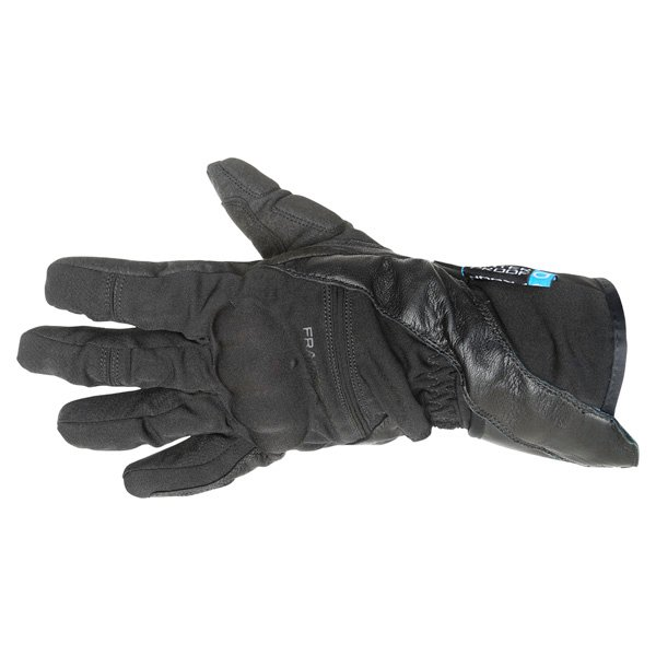 Frank Thomas Navigator Black Motorcycle Gloves Back