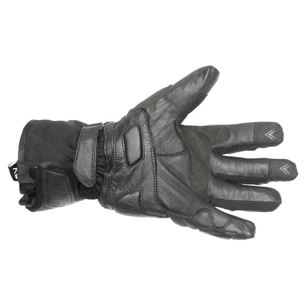 Frank Thomas Navigator Black Motorcycle Gloves Palm