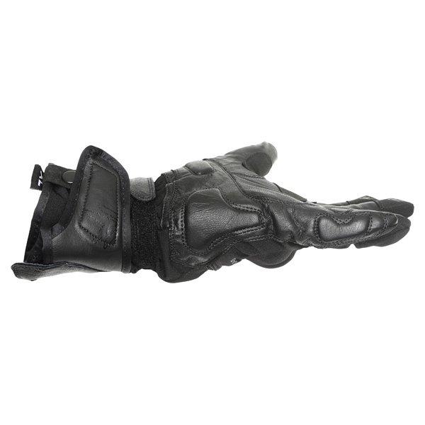 Frank Thomas Navigator Black Motorcycle Gloves Little finger side