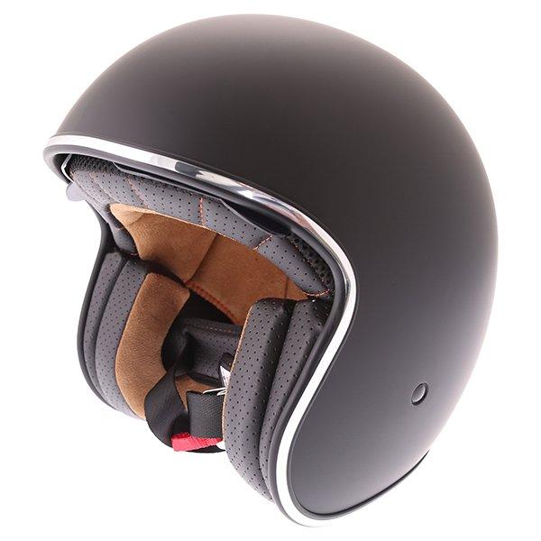 V537 Classic Helmet Matt Black Vcan Helmets