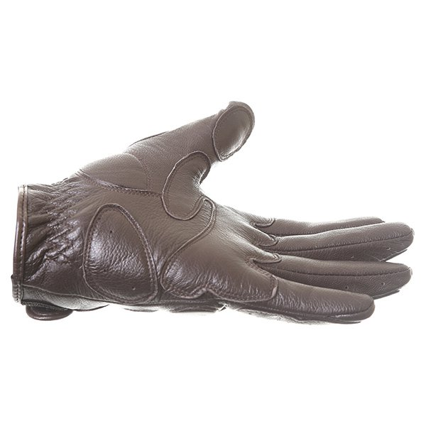 Dainese Black Jack Brown Motorcycle Gloves Little finger side