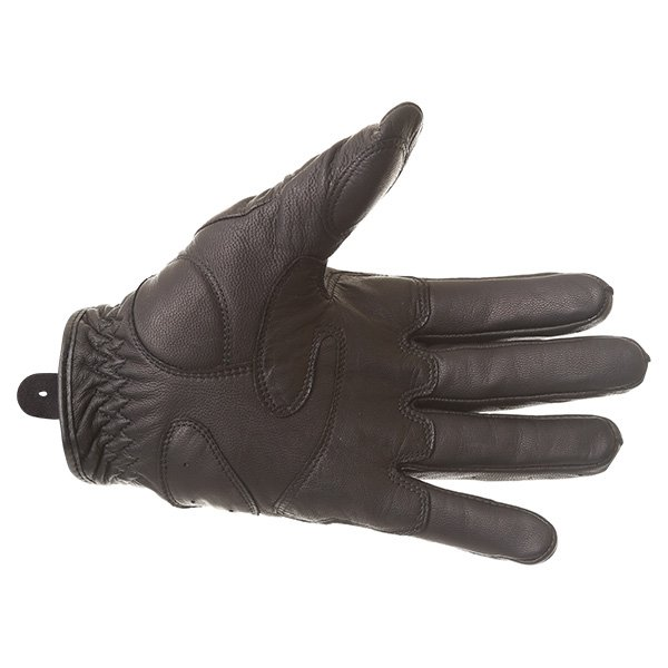 Dainese Black Jack Black Motorcycle Gloves Palm
