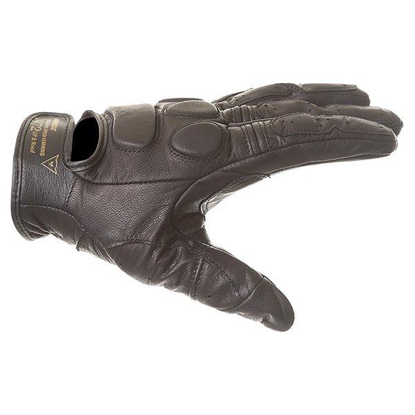Dainese Black Jack Black Motorcycle Gloves Thumb side