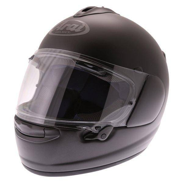 Arai Chaser-X Frost Black Full Face Motorcycle Helmets Front Left