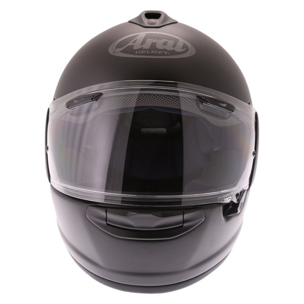 Arai Chaser-X Frost Black Full Face Motorcycle Helmets Front