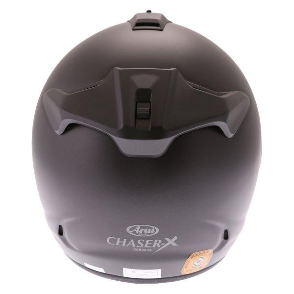 Arai Chaser-X Frost Black Full Face Motorcycle Helmets Back