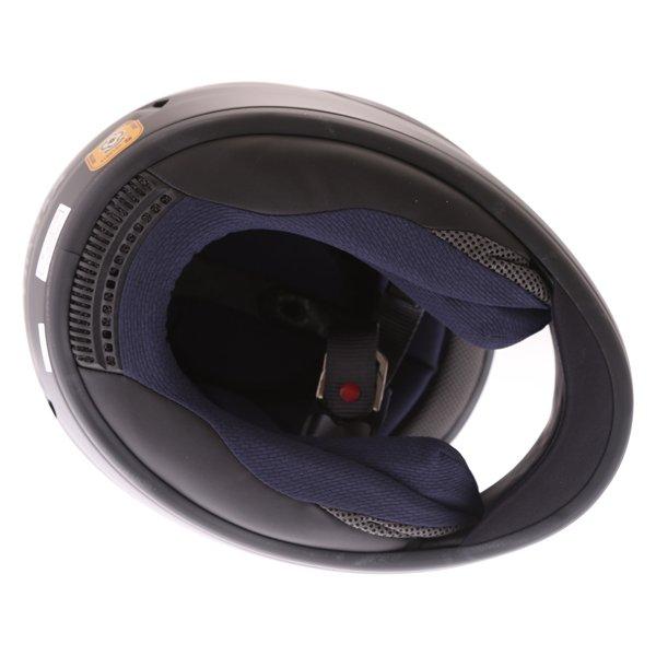 Arai Chaser-X Frost Black Full Face Motorcycle Helmets Inside