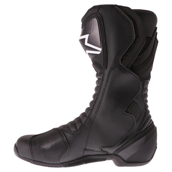 Alpinestars SMX-6 V2 Black Motorcycle Boots Outside leg