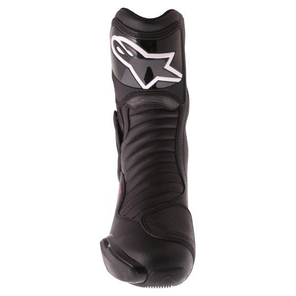 Alpinestars Stella SMX-6 V2 Black Fuchsia White Ladies Motorcycle Boots Front
