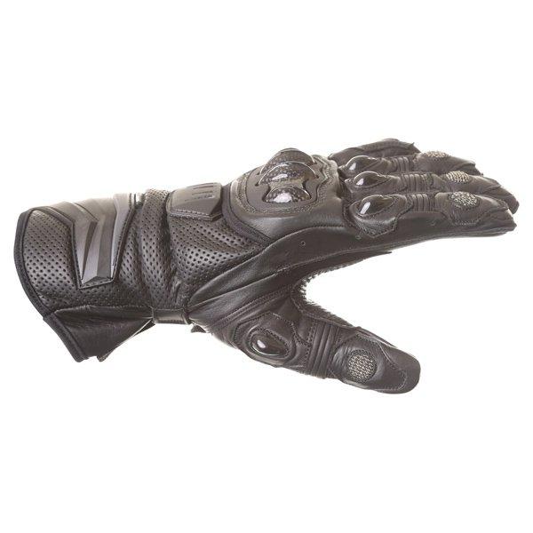 Frank Thomas Dynamic Black Motorcycle Gloves Thumb side