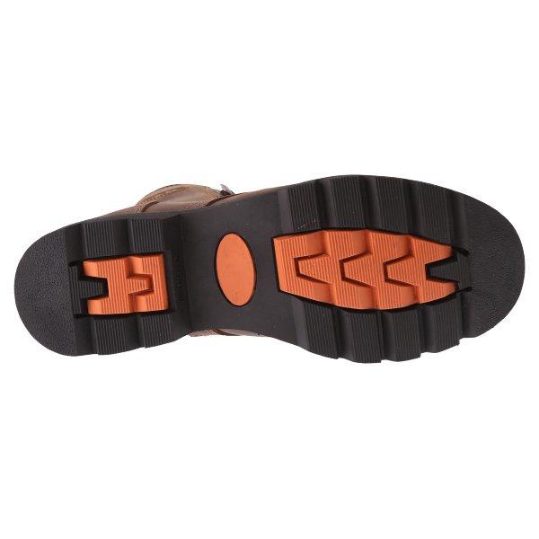 BKS Tornado Brown Waterproof Motorcycle Boots Sole