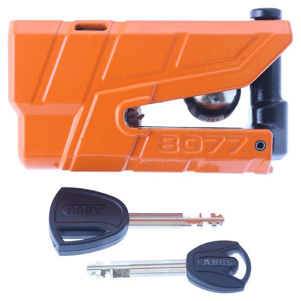 Abus Granit Detecto X-Plus 8077 Orange Disc Lock