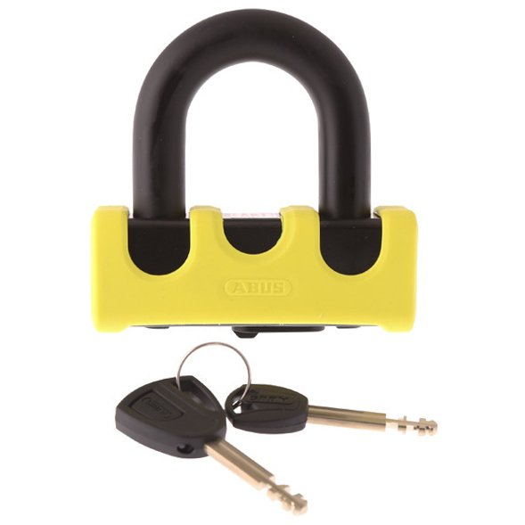 Abus Grant Power XS 67-105HB50 Yellow Shackle Disc Lock