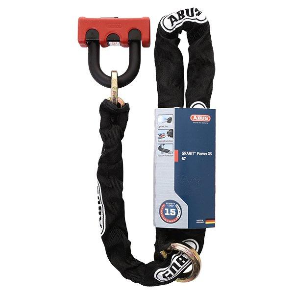 Abus Granit Power XS 67 KS Loop 120 Chain and Shackle Lock