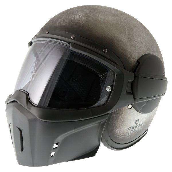 Caberg Ghost Iron Motorcycle Helmet Front Left