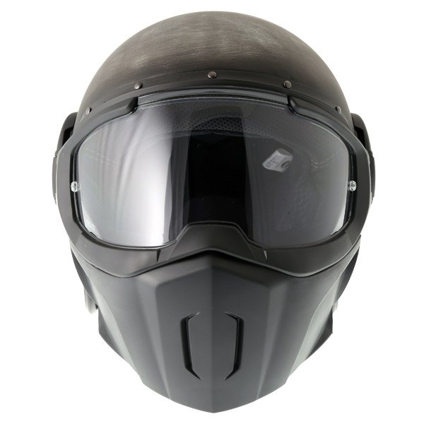 Caberg Ghost Iron Motorcycle Helmet Front