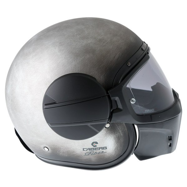 Caberg Ghost Iron Motorcycle Helmet Right Side